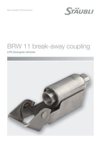 BRW 11 break-away coupling - LPG (Autogas) vehicles