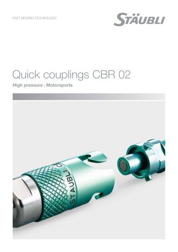 CBR02 motorsports - Clean break coupling