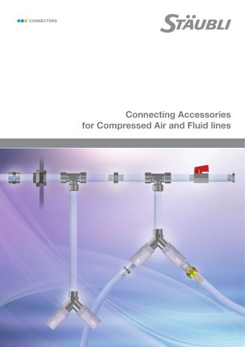 Connecting Accessories for Compressed and Fluid lines