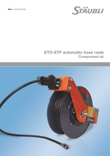ETO-ETF automatic hose reels Compressed air