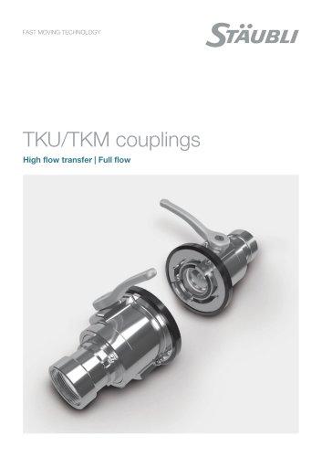 Full flow couplings - TKU/TKM
