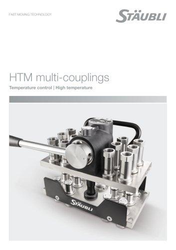 HTM multi-couplings Temperature control