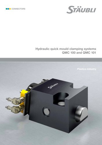 Hydraulic Quick Mould Clamping Systems QMC 100 and QMC 101