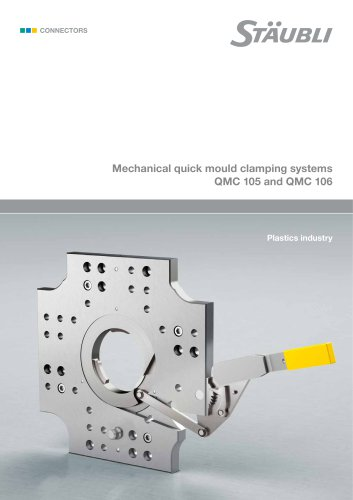 Mechanical quick mould clamping systems QMC 105 and QMC 106
