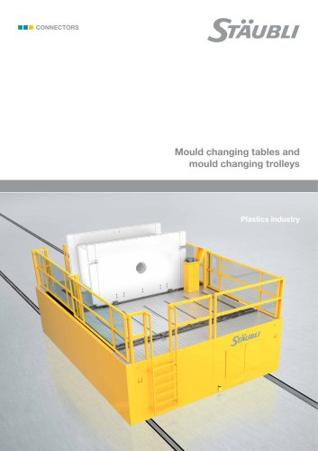 Mould changing tables and mould changing trolleys