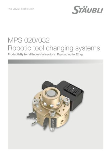 MPS 020/032 - Robotic tool changing systems