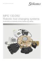 MPS 130/260 Robotic tool changing systems