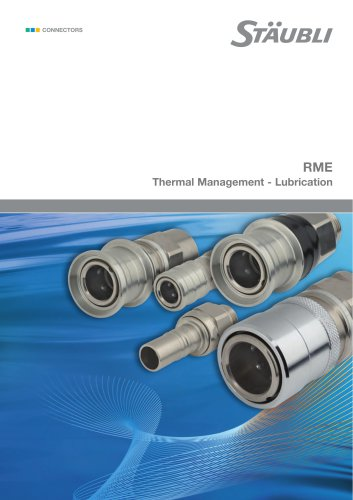 RME Thermal Management - Lubrication