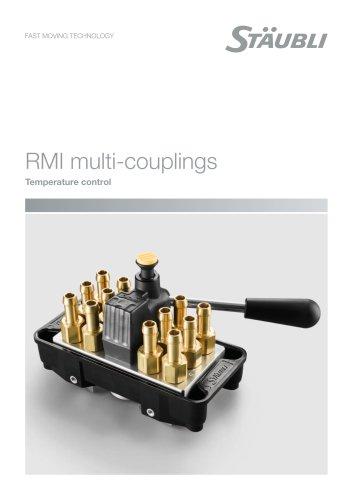 RMI MULTI couplings - Temperature control