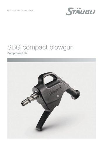 SBG compact blowgun