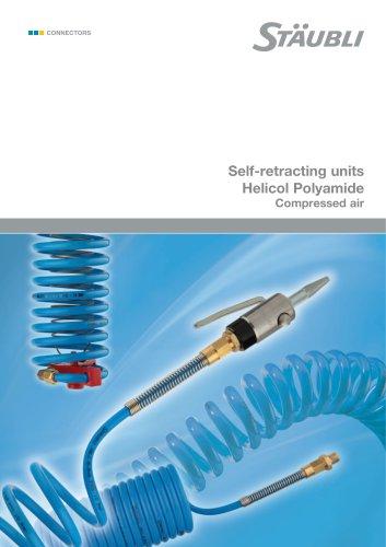 Self-retracting units Helicol Polyamide