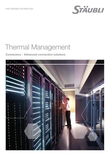 Thermal Management - Advanced connection solutions