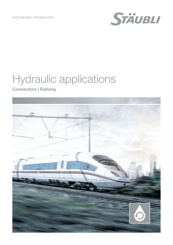 Your applications in hydraulics Railway