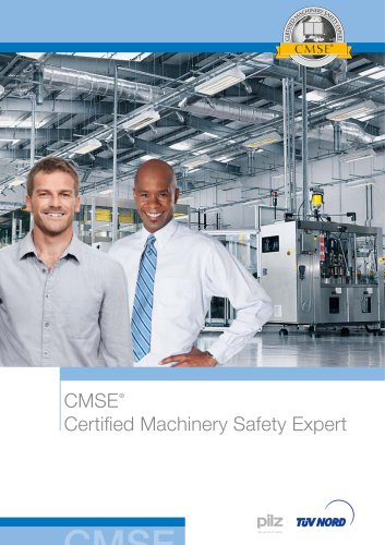 Leaflet CMSE - Certified Machinery Safety Expert