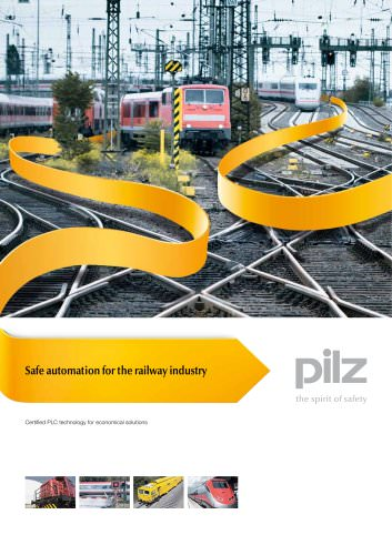 Leaflet Safe automation for the railway industry
