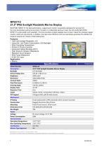 Ecran Marine 21.5 » NAVPIXEL ? protection étanche IP-65