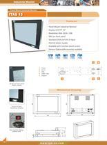 industrial panelmount monitors