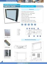 industrial panelmount Panel PC