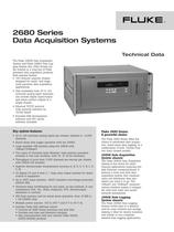 2680 Series Data Acquisition Systems - 1