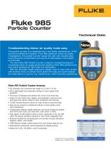 Fluke 985 Particle Counter - 1
