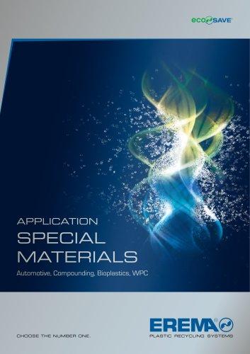 Application Special Materials