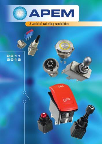 2011-2012 APEM Switch Catalogue