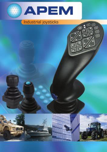 2011 APEM Joysticks Catalogue