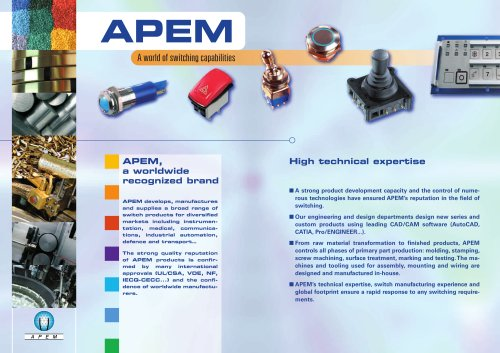 APEM group presentation