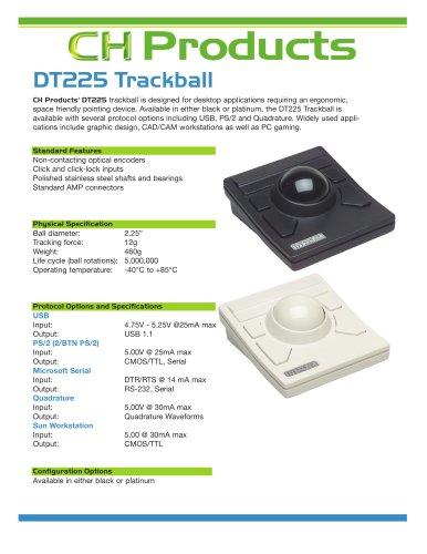 industrial desktop trackball CH Products