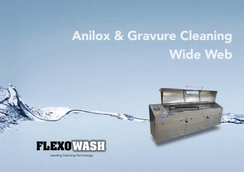 Anilox & Gravure Roll Cleaning