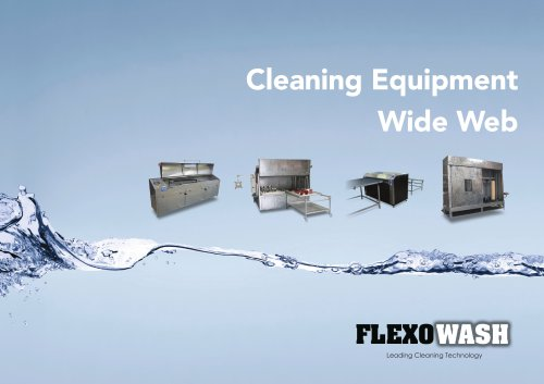 WIDE WEB CLEANING EQUIPMENT