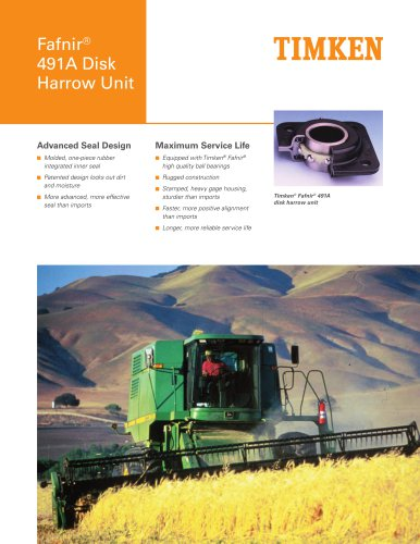 491A Disk Harrow Unit