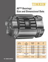 AP? Bearing Product Sheet - 1