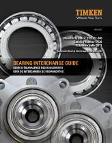 Automotive Aftermarket Bearing Interchange Guide - 1