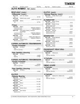Automotive Aftermarket Bearing and Seal Application Catalog - 13