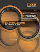 Automotive Aftermarket Seal Interchange Guide - 1
