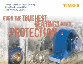 Auxiliary Steel Cover Brochure for Timken SRB Solid-Block Housed Unit - 1
