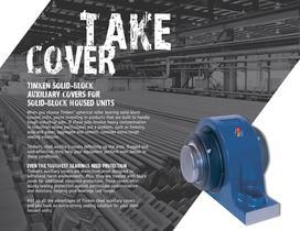 Auxiliary Steel Cover Brochure for Timken SRB Solid-Block Housed Unit - 3
