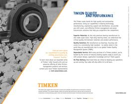 Auxiliary Steel Cover Brochure for Timken SRB Solid-Block Housed Unit - 6