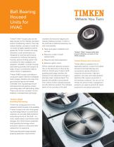 Ball Bearing Housed Units for HVAC - 1