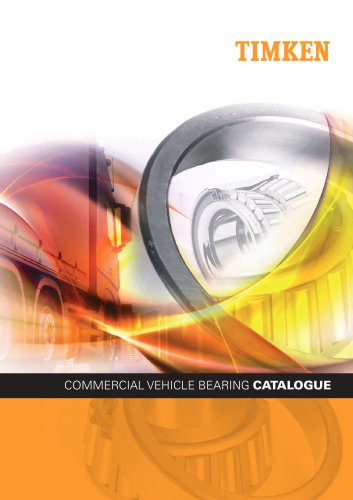 COMMERCIAL VEHICLE BEARING CATALOGUE