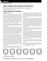 Cylindrical Roller Bearing Catalog - 12
