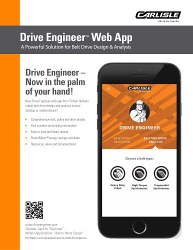 Drive Engineer™ Web App