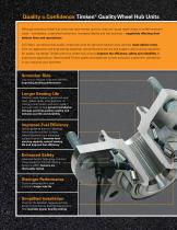 Driving Confidence. Wheel Hub Units for Light and Medium-Duty Vehicles - 2