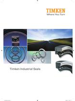 Large Bore Industrial Seal Catalog - 1