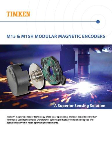 M15 & M15H MODULAR MAGNETIC ENCODERS