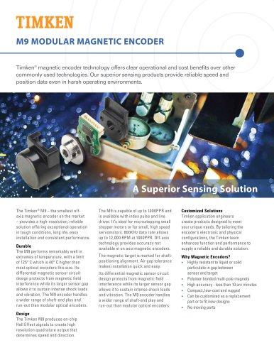 M9 Modular Magnetic Encoder