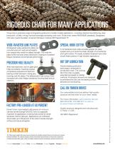 PRECISION ROLLER CHAIN FOR YOUR TOUGHEST APPLICATIONS - 2