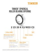 ROLLER BEARING OFFERING - 1