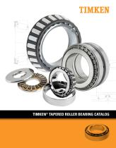 Tapered Roller Bearing Catalog - 1